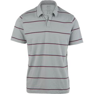 RVCA Sure Thing Striped Polo Shirt - Men's