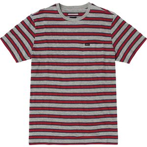 RVCA Fell Stripe Crew - Short-Sleeve - Men's