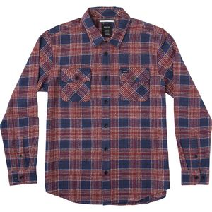 RVCA Lowland Long-Sleeve Flannel Shirt - Men's