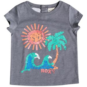 Roxy Girl Paint Beach Crew - Short-Sleeve - Toddler Girls'