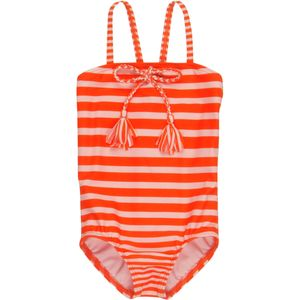Roxy Girl All Aboard Striped One-Piece Swimsuit - Toddler Girls'