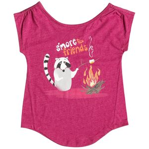 Roxy Girl S'more Friends T-Shirt - Short-Sleeve - Toddler Girls'