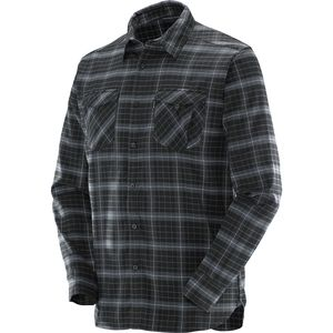 Salomon Boundless Flannel Shirt - Long-Sleeve - Men's