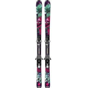 Salomon Q-Lux JR Ski + EZY7 B80 Binding - Kids'