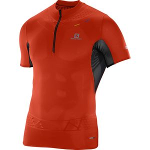 Salomon S-Lab Exo Zip Shirt - Short-Sleeve - Men's