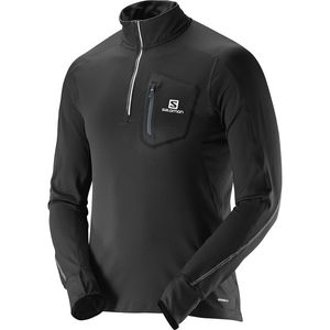 Salomon Trail Runner Warm Zip-Neck Shirt - Long-Sleeve - Men's
