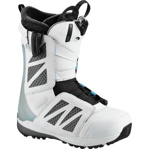 Salomon SnowboardsHi Fi White Snowboard Boot - Men's
