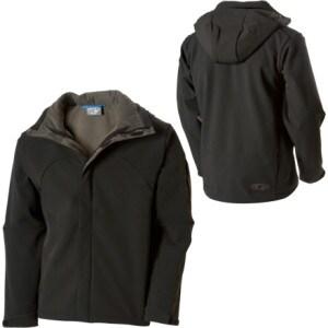 photo: Salomon Men's Snowtrip II 3:1 Jacket component (3-in-1) jacket
