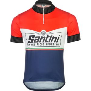 Santini Wool Heritage Jersey - Short Sleeve - Men's