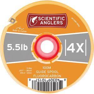 Scientific Anglers Fluorocarbon Tippet - 100 Meter Guide Spool