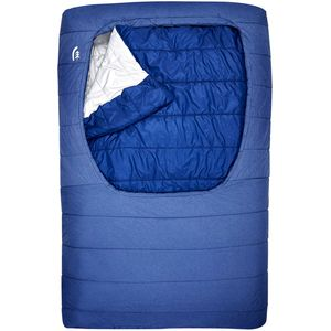 Sierra Designs Frontcountry Queen Sleeping Bag: 27 Degree Synthetic