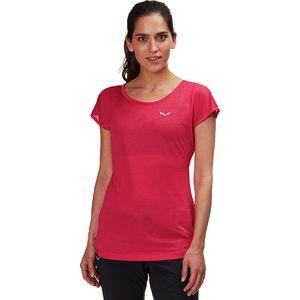 Salewa Puez Melange Dry Short-Sleeve Shirt - Women's