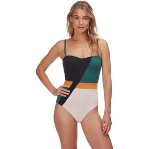 Seafolly  Aralia Bandeau Maillot One-Piece Swimsuit - Women's