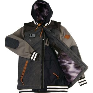 Saga Puff Vest & Poly Combo Jacket - Men's