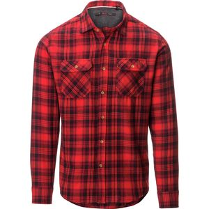 Stoic Deep Woods Flannel Shirt - Long-Sleeve - Men's