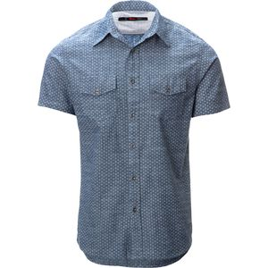 Stoic Four Corners Chambray Shirt - Short-Sleeve - Men's