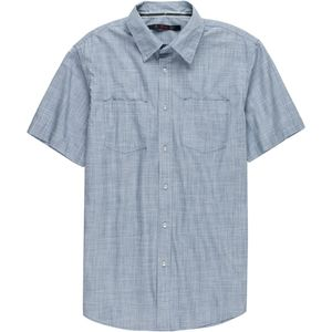 Stoic Crosshatch Chambray Shirt - Men's
