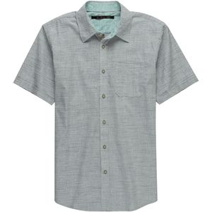 Stoic Crosshatch Chambray Shirt - Short-Sleeve - Men's