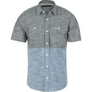 Stoic Colorblock Chambray Shirt - Short-Sleeve - Men's