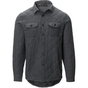 Stoic Iceland Qulited Button Down Shirt - Men's