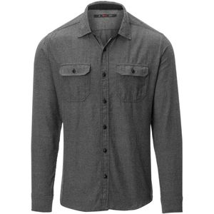 Stoic Solid Herringbone Flannel Shirt - Men's