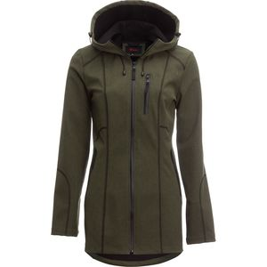 Stoic Heathered Softshell Jacket - Women's