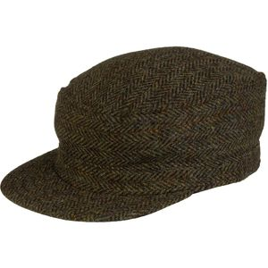 Stormy Kromer Mercantile Harris Tweed Flat Top Hat