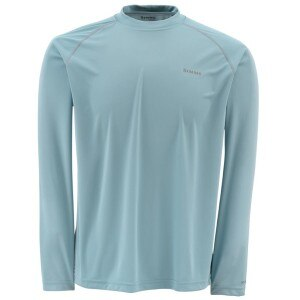 Simms Solarflex Solid Crew - Long-Sleeve - Men's