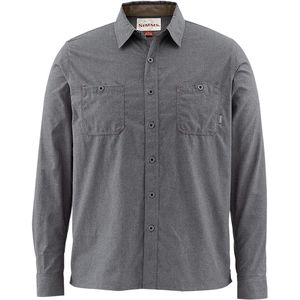 Simms Black's Ford Flannel Shirt - Long-Sleeve - Men's