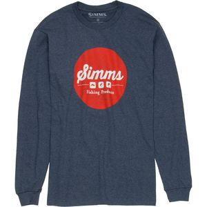 Simms Genuine Logo T-Shirt - Long-Sleeve - Men's