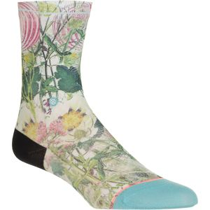 Stance Chaotic Flower Everday Casual Sock - Girls'