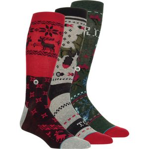Stance Holiday Gift Box Socks - 3-Pack - Men's