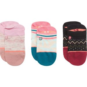 Stance Sleigh Ride Socks - 3-Pack - Infant Girls'
