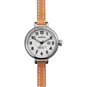 Shinola Birdy 34mm Leather Watch - Women's