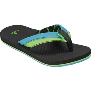 Sanuk Rootbeer Cozy Light Flip Flop - Boys'
