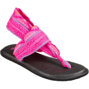 Sanuk Yoga Sling Burst Prints Sandal - Girls'