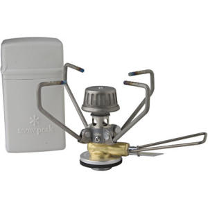 photo: Snow Peak GigaPower Stove, Titanium, Manual compressed fuel canister stove