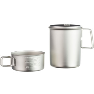 Snow Peak Mini Solo Combo Titanium Cookset