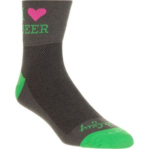 SockGuy Heart Beer 3in Socks