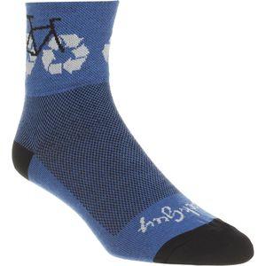 SockGuy Recycle Bike 3in Socks Compare Price