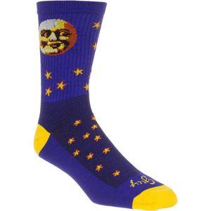 SockGuy Moon Head 6in Socks