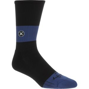 SockGuy SGX8 Black/Blue Socks