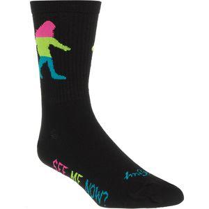 SockGuy Sasquatch 2 Neon Wool Socks