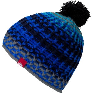 Spacecraft Zeppelin Hand Knit Pom Beanie