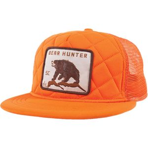 Spacecraft Bear Hunter Trucker Hat