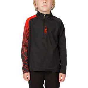 Spyder Mini Linear Web Dry W.E.B. T-Neck Top - Toddler Boys'
