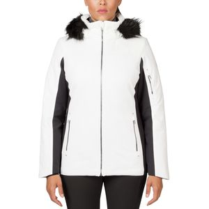 Spyder Diamonte Faux Fur Jacket - Women's