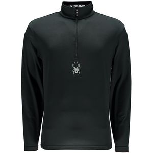 Spyder Silver Dip Dry W.E.B. Zip-Neck Top- Men's