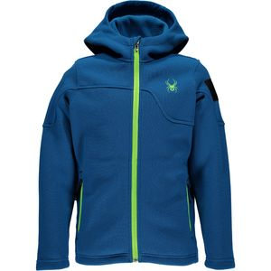 Spyder Upward Hooded Fleece Jacket - Boys'