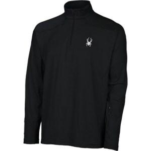 Spyder Stash T-Neck Fleece Pullover - Mens